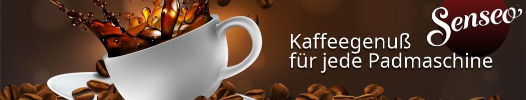 Senseo Kaffeepads für jede Kaffee-Padmaschine